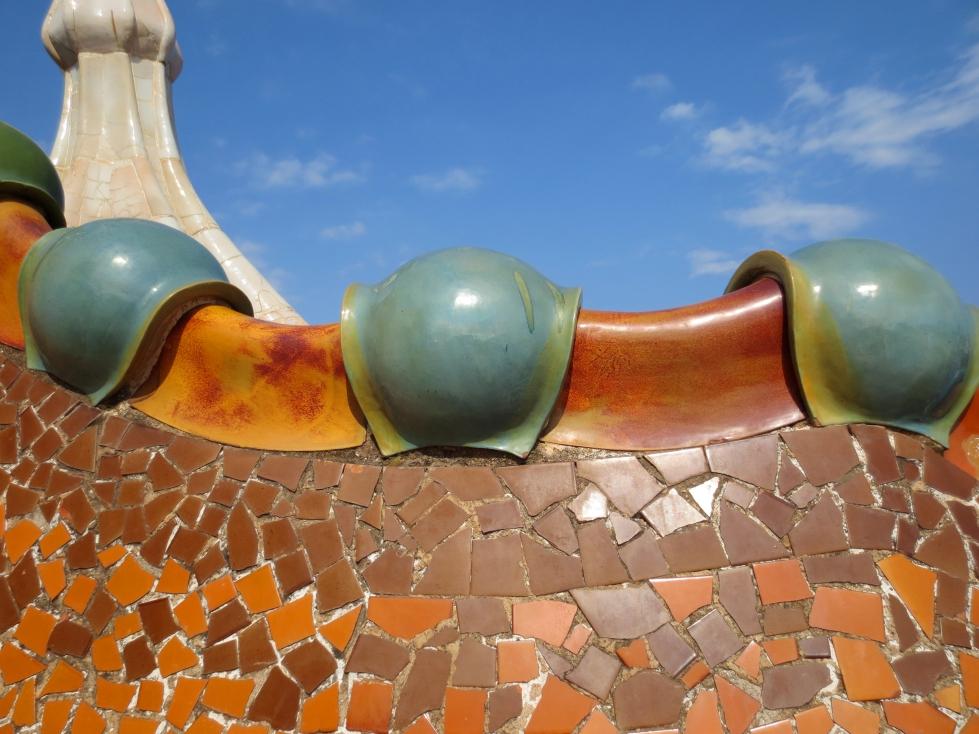 Casa Batllo Mosaics