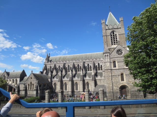 Christchurch Cathedral (1028) - the spiritual heart of Dublin