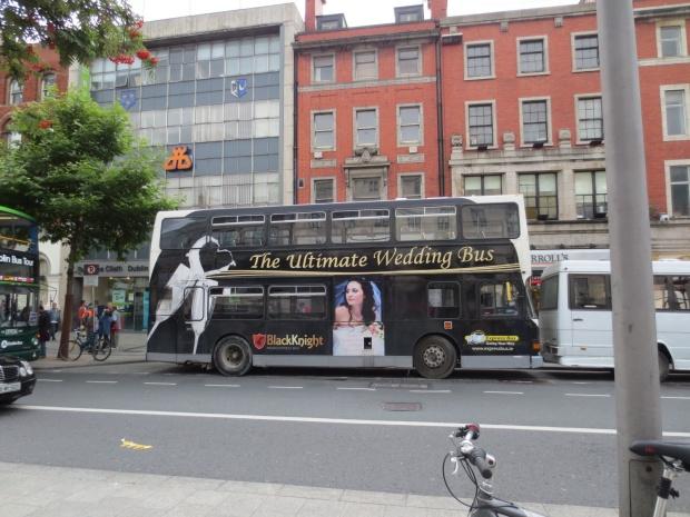 Wedding buses...