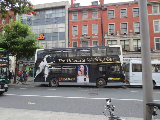 Wedding buses...
