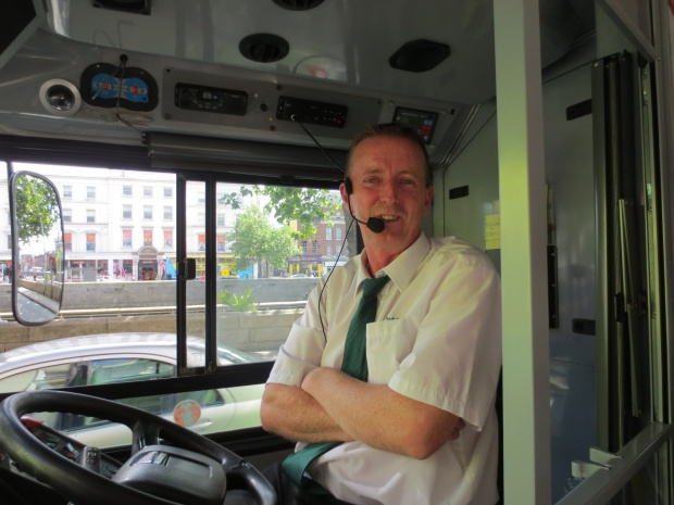 "Phil (""I went to Trinity. I studied medicine there for two years, before I gave it up for the love of bus driving!"" ;-)"
