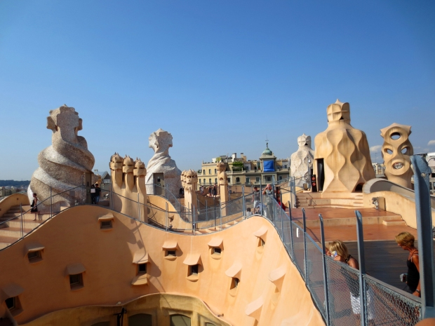 "Gaudi wasn't really a ""straight lines"" kinda guy."