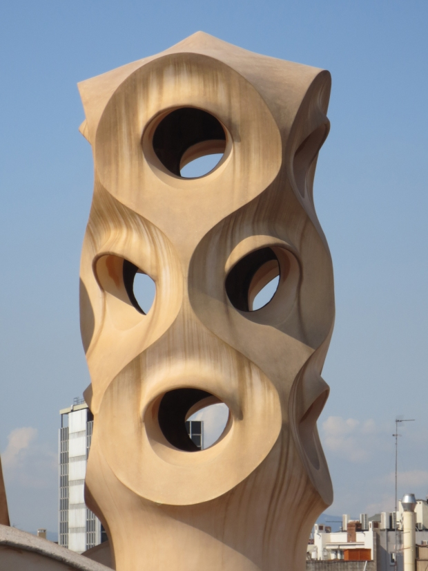 Ventilation shafts of La Pedrera