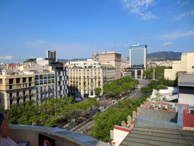 Barcelona from the top of La Pedrera. I've definitely seen worse ;-)