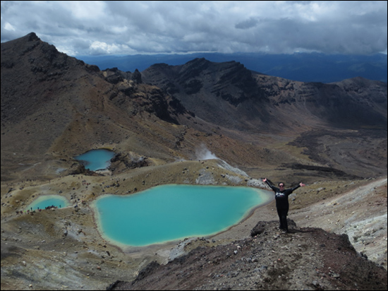 Emerald Lakes, Tongariro Alpine Crossing, New Zealand, 2014
