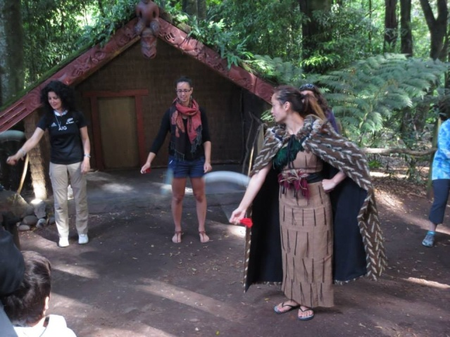 "And the ""poi""-hut, teaching us how to use the Poi ;-)"