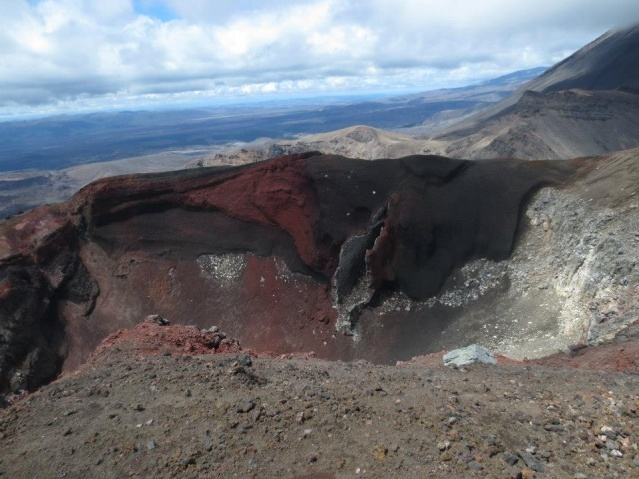 The Red Crater - with the famous vulva...