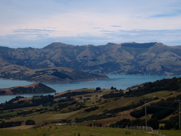 Fantastic view right off the road to Akaroa