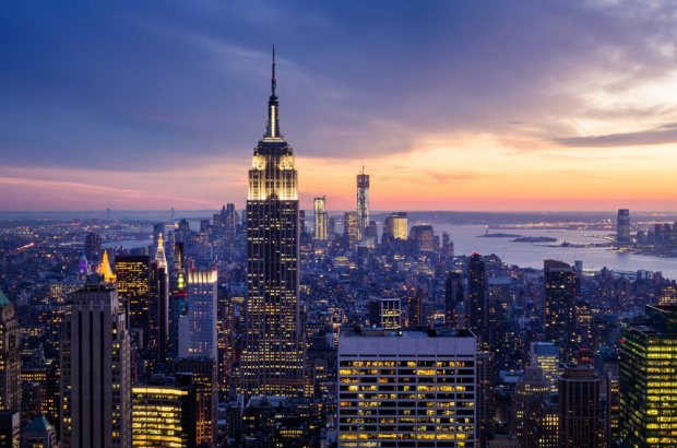 1. stop: NEW YORK