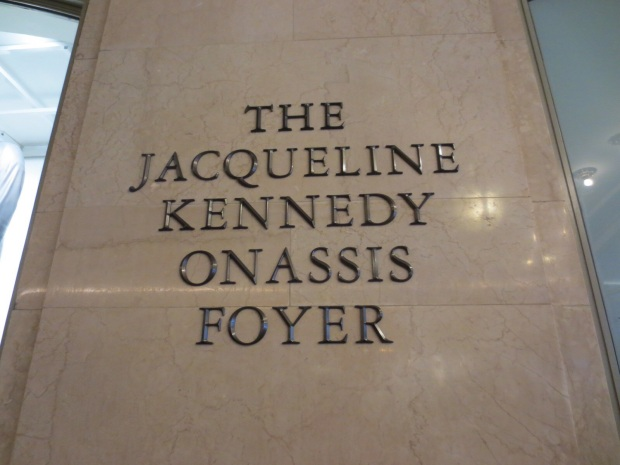 Jackie Kennedy fought to keep the Grand Central Station from being demolished, and won. They've demolished quite a few old and beautiful buildings in Manhattan before getting a grip and preservation became a thing.