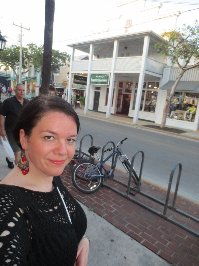 I liked the whole feel of Key West, the atmosphere, the architecture...