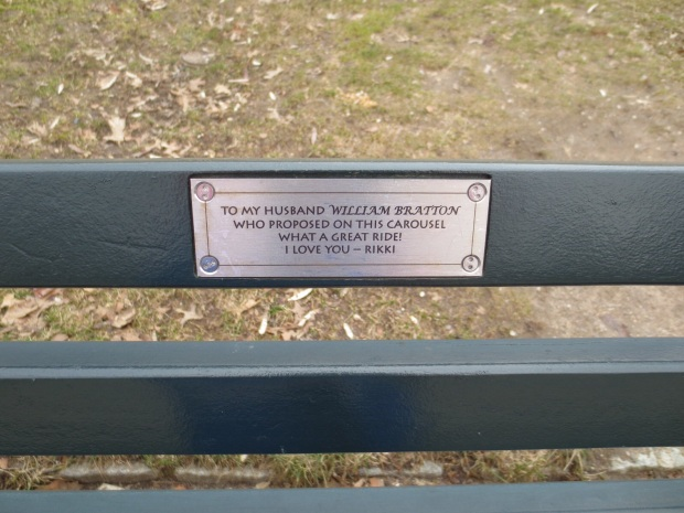 Pretty much every bench has something like this...