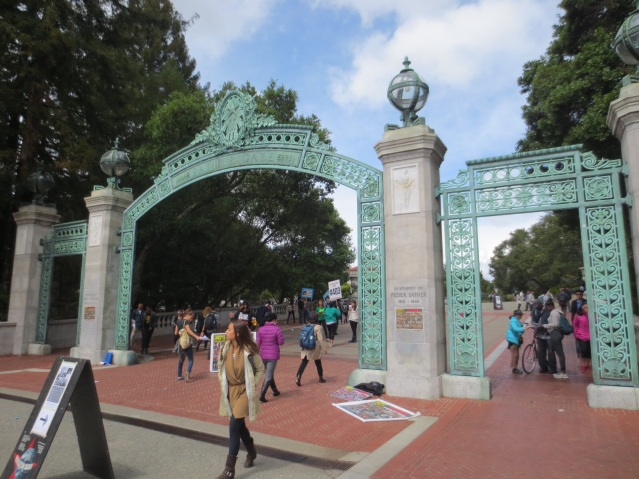 Peder Sæther Gate, named after a Norwegian banker whose widow donated cash to the University of California
