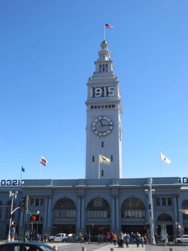 Ye olde Ferry Building. This bell tower doesn't have a bell, i plays a recording of Big Ben when it sounds.