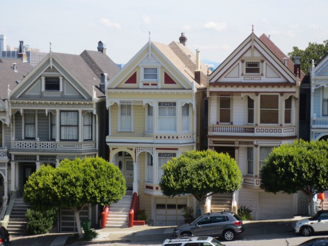 Closeup of the Painted Ladies