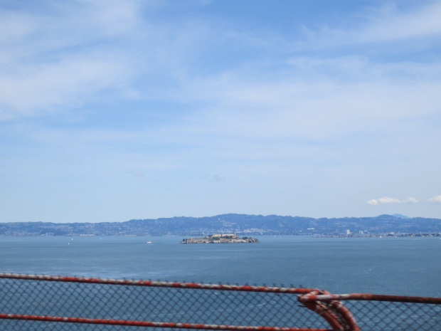 Alcatraz in the distance!
