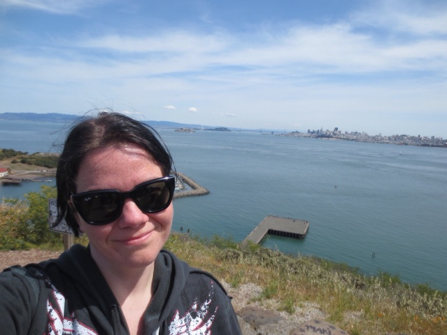 That's SF behind me in the distance