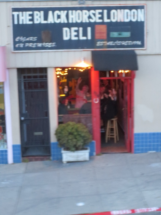 The smallest deli in SF, they always stop and wave here ;-)