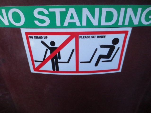 No standup! No comedians here...