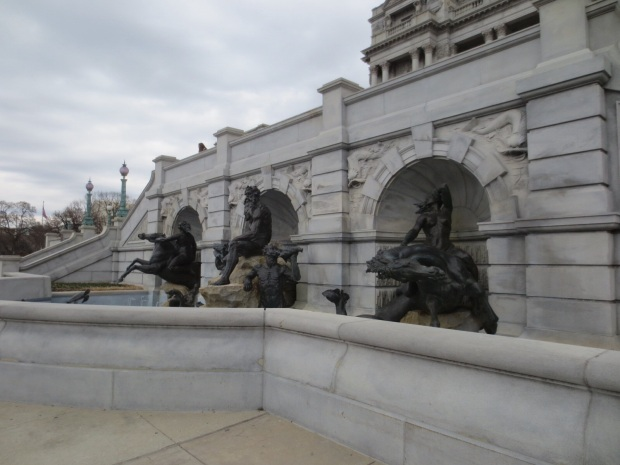 Beautiful buildings, fountains and statues cover the city