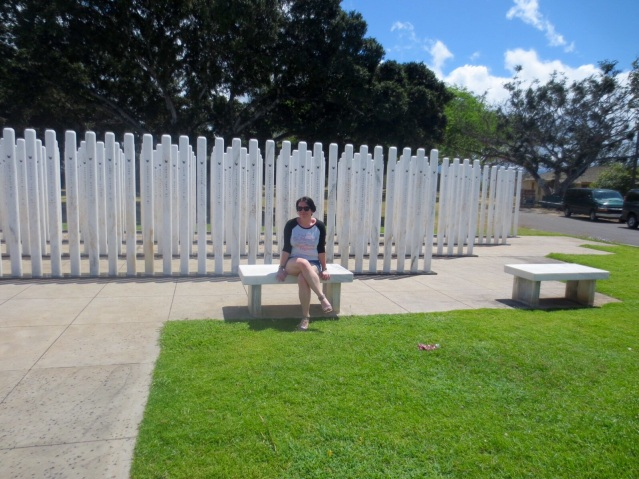 The memorial and me