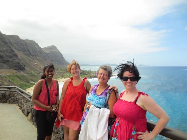 Ewnett, Sylvie, Margaret & I