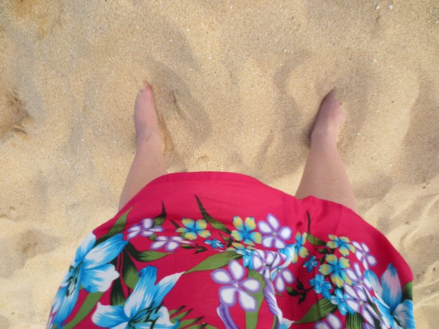 The sand was fantastic!