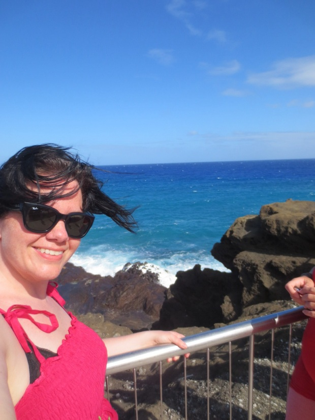 Getting a shot of me with the Blowhole... No? Hmm...
