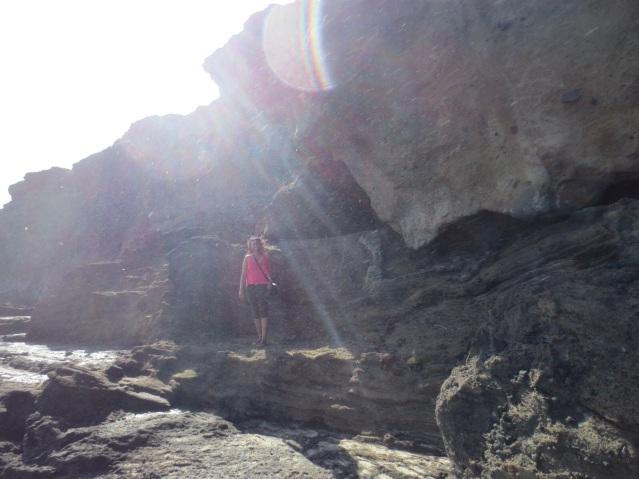 Ewnett climbing like a pro