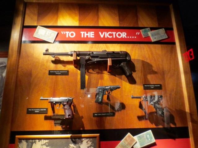 Guns...