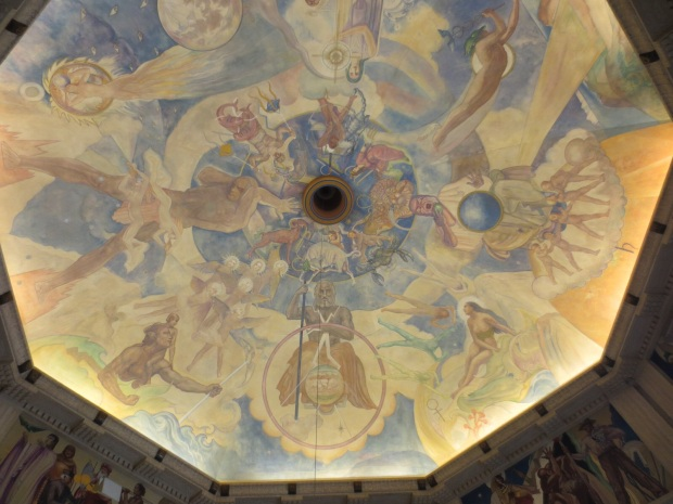 The dome in the observatory, so beautiful <3