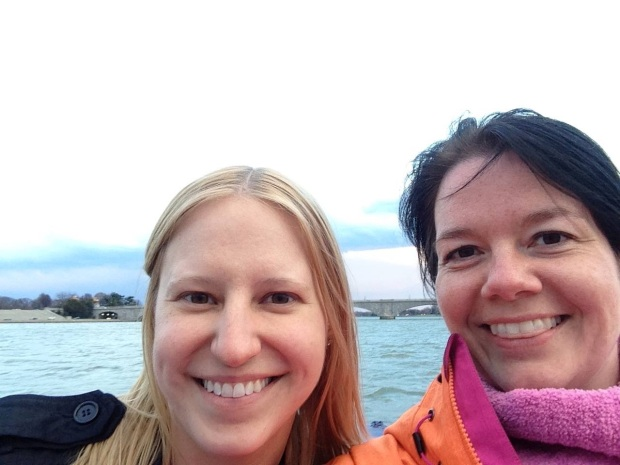 Amy and I on the Potomac River :-)