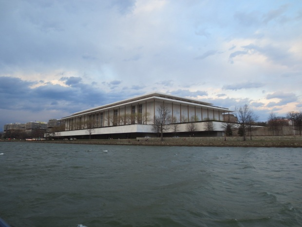 The Kennedy Centre viewed form the Potomac River
