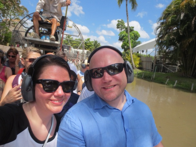 Air boats are loud :-D
