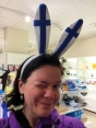 "Find one of the thousand tourist shops and try on their amazing collection of hats and ""head gear"" *lol*"