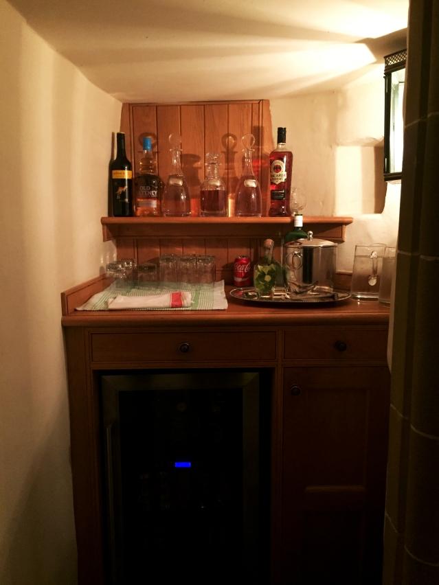 Complimentary bar(!)