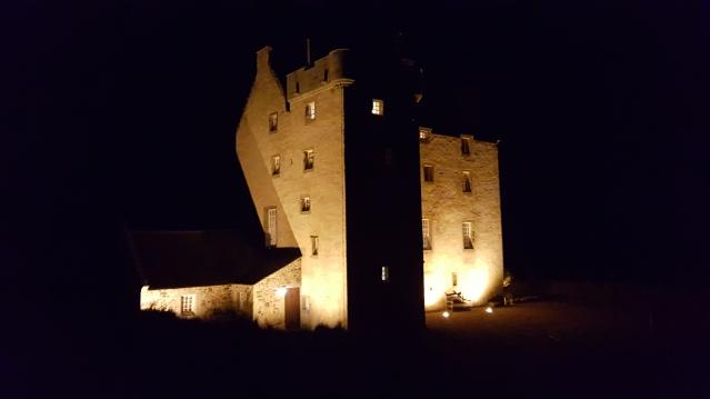 Fenton Tower at night