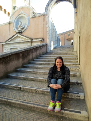 Me at Castel sant'Angelo