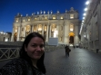 Finally got through security for entry to St. Peter's Basilica