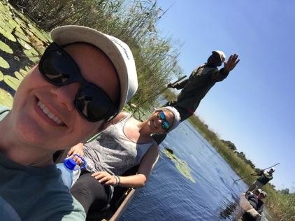 Mokoro trip in the Okavango Delta