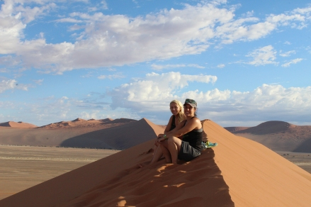 Nicole and Gen on Dune 45