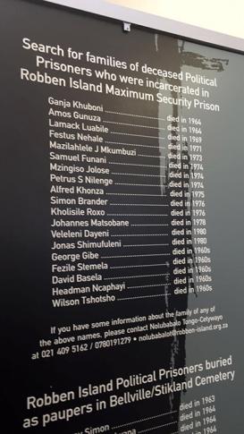 Prisoners' families