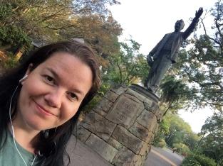 Cecil Rhodes statue. My work is done.