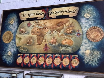 The Spice Route (I quite liked some of the artwork in the museum)