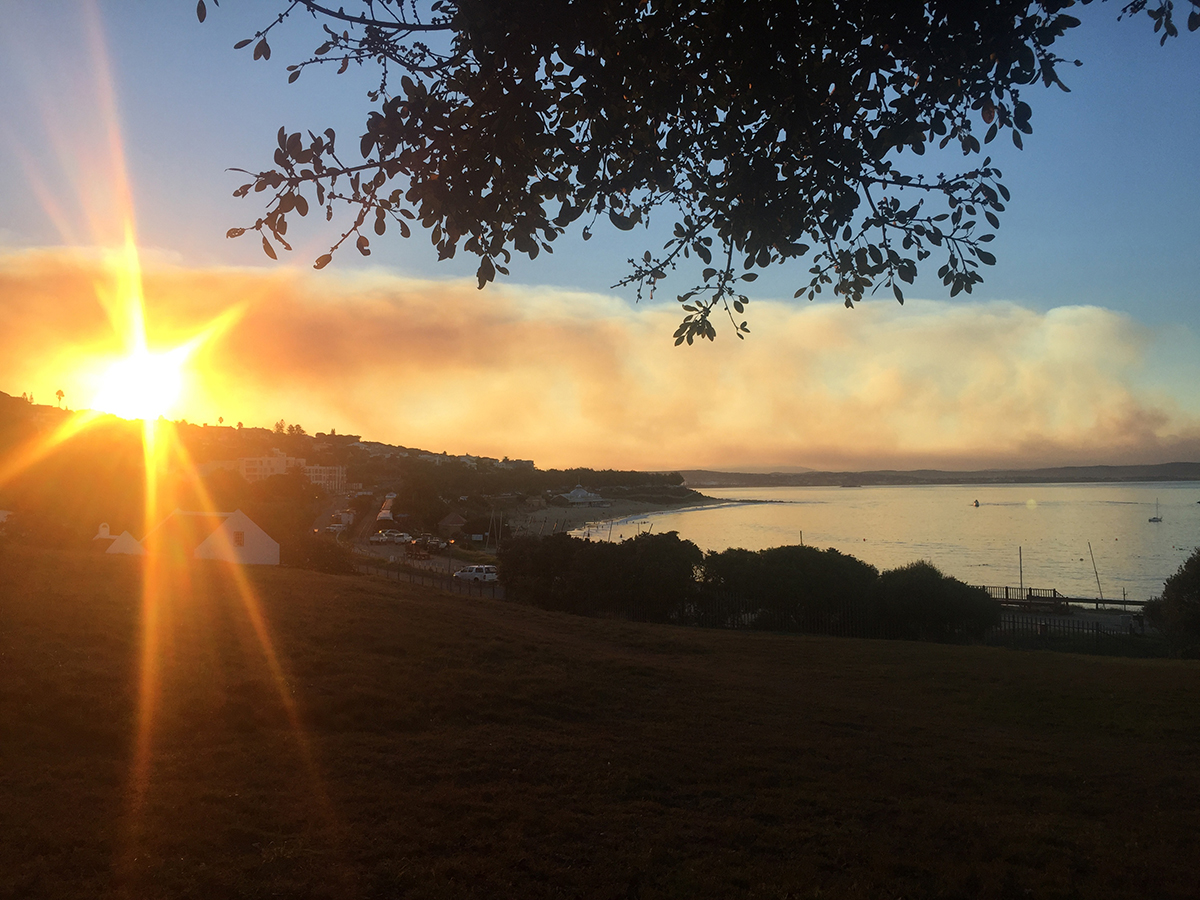 Beautiful sunset in Mossel Bay...