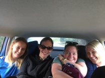 Six people in the car? No problem...