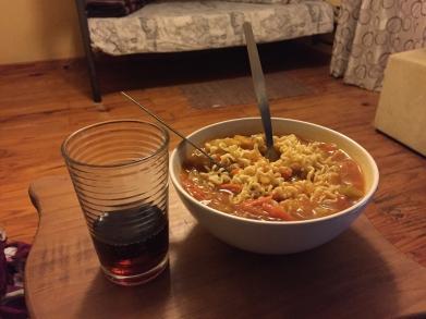My killer dinner...