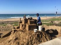 Sand artist