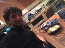Matt and his shakalaka.