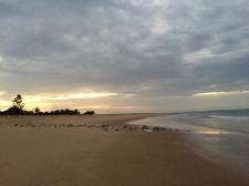 Sunset at Barra Beach